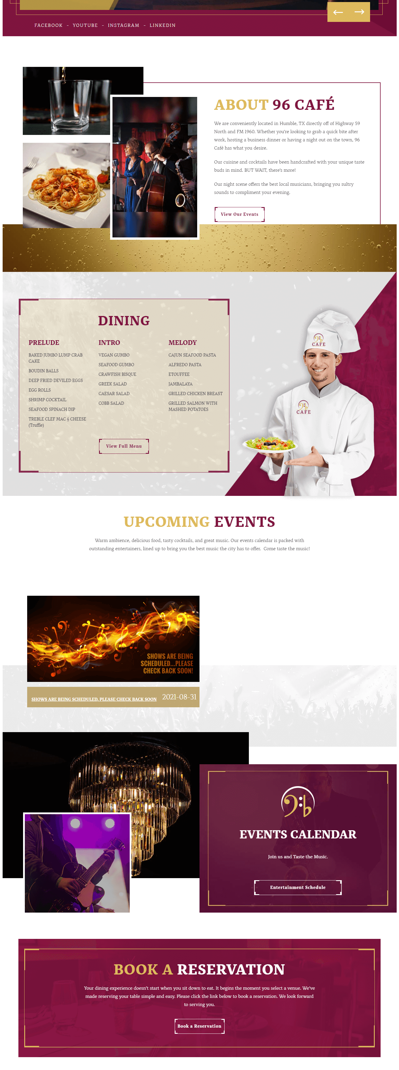 the96cafe-wordpress-booking